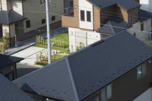 高級フッ素屋根塗装