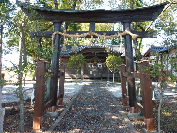 松本市 K神社様 鳥居修繕