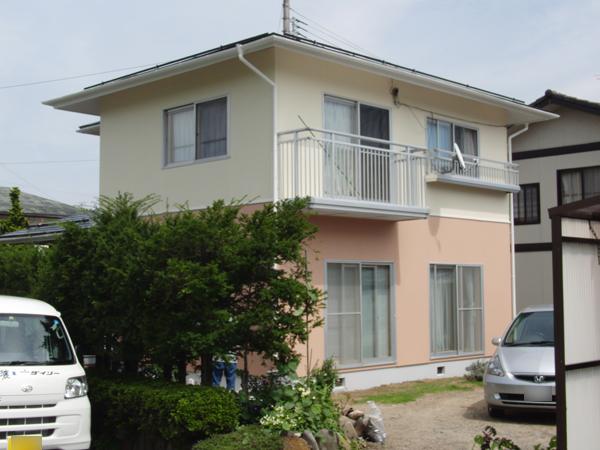 松本市 外壁塗装&屋根塗装 T様邸