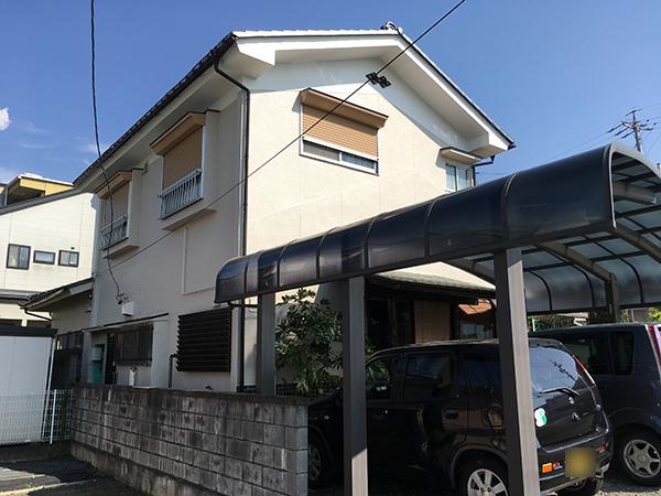 松本市 外壁塗装&屋根塗装  U様邸