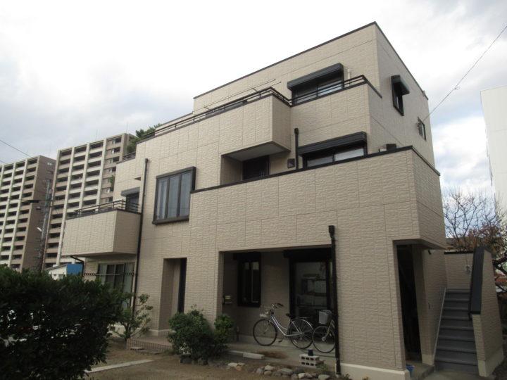 長野県松本市 外壁塗装・付帯部塗装・バルコニー防水 N様邸