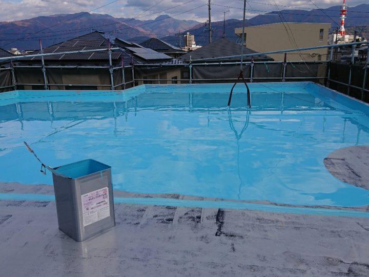 ウレタン防水 状況