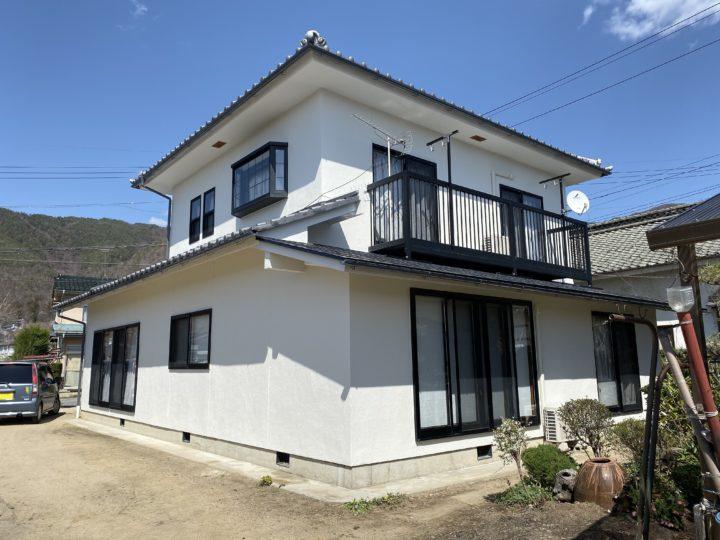 長野県松本市 外壁・付帯部塗装 H様邸