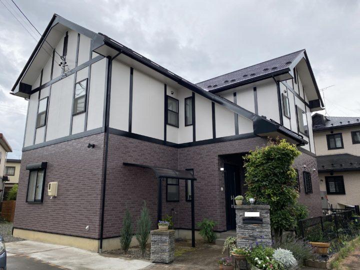 長野県松本市 外壁・屋根・付帯部塗装・ベランダ防水 Y様邸
