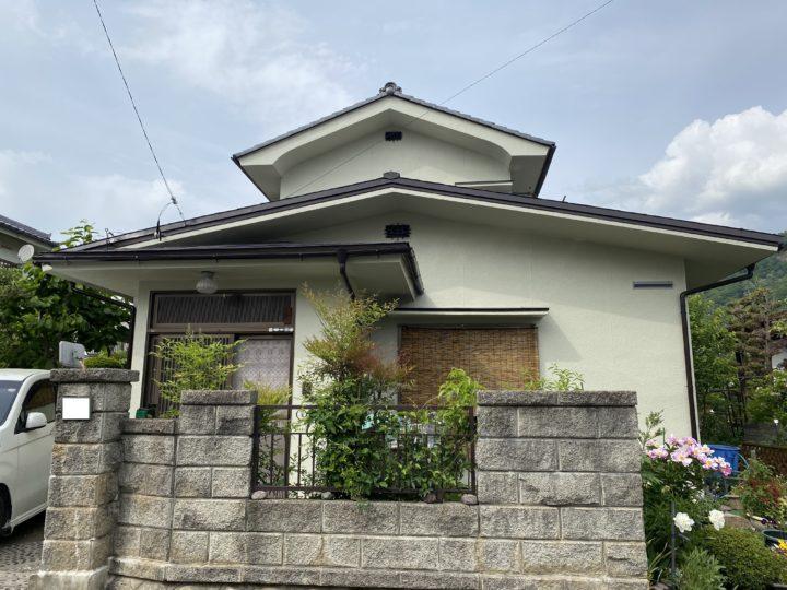 長野県松本市 外壁・屋根・付帯部塗装・軒補強 M様邸