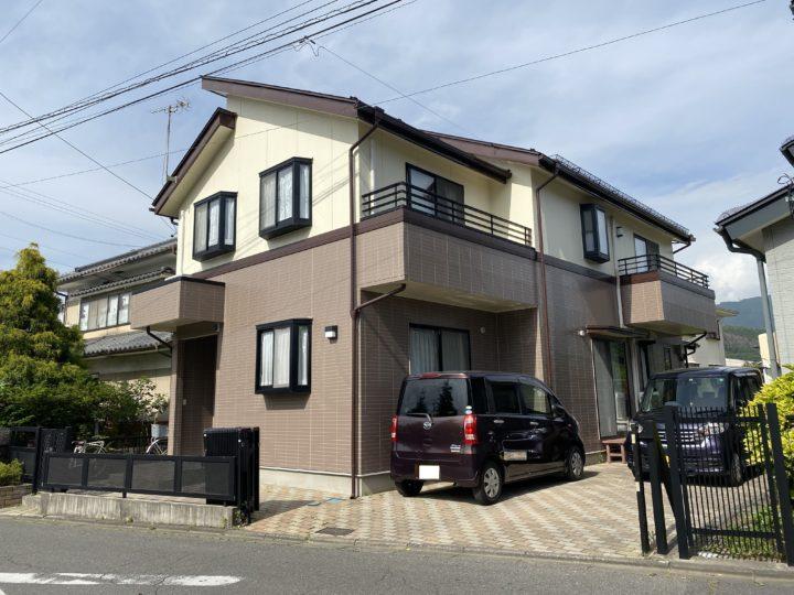 長野県松本市 外壁・屋根・付帯部・ベランダ防水・内窓設置 W様邸