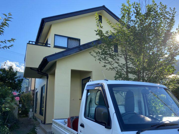 長野県 安曇野市 T様邸 外壁・屋根塗装工事