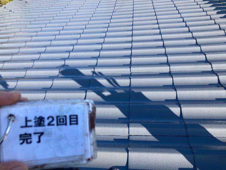長野県中信エリア O様邸 屋根塗装工事