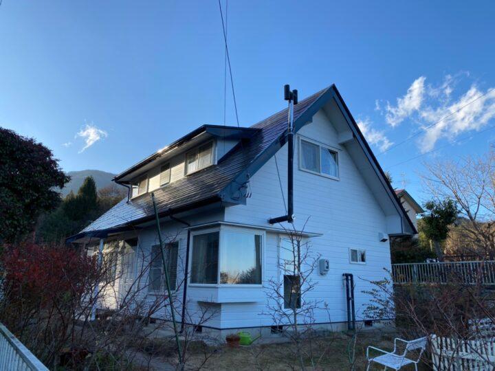 長野県安曇野市 外壁塗装・屋根塗装・雨樋等金物塗装