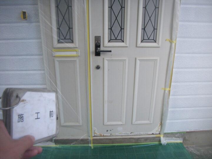 【玄関ドア】施工前