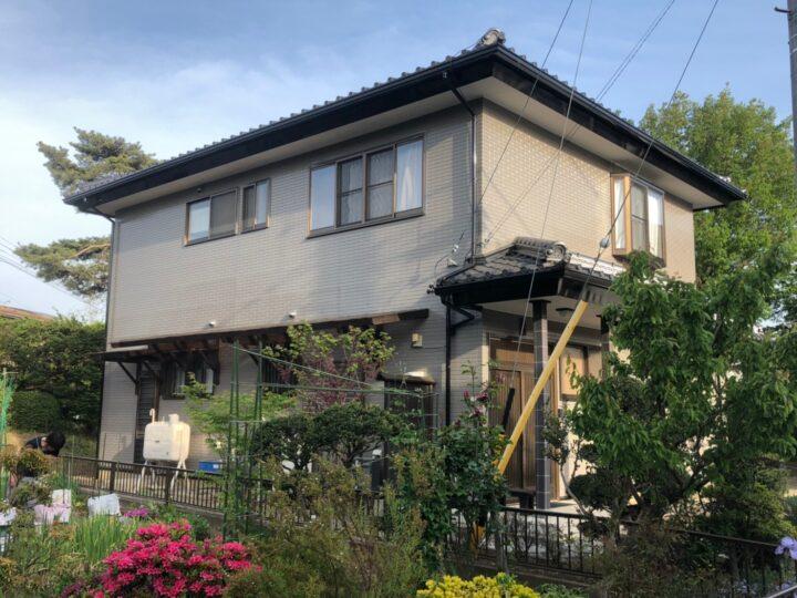 長野県塩尻市 Y様邸 外壁塗装・瓦谷部等補修