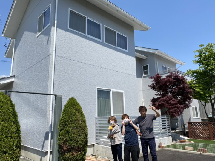 長野県松本市 O様邸 外壁塗装・屋根塗装